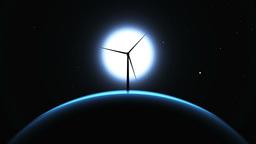 風力発電 Animation