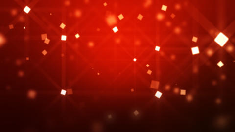 Red. background. Moving Particles Loop HD Stock Video Footage