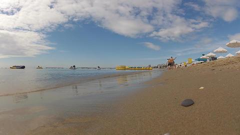 sea beach Stock Video Footage