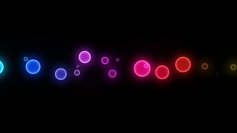 Neon LED Dot10 Ea1a HD Animation