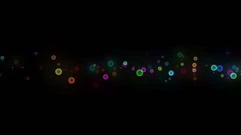 Neon LED Dot10 Ea2b HD Stock Video Footage