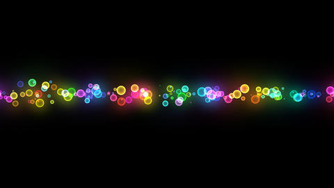 Neon LED Dot10 Ea2b HD Stock Video Footage