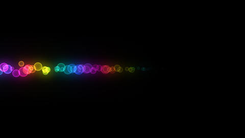 Neon LED Dot10 Eb2a HD Stock Video Footage