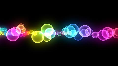 Neon LED Dot10 Eb3 HD Stock Video Footage