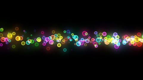 Neon LED Dot10 Eb5b HD Stock Video Footage