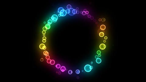 Neon LED Dot10 Fa1 HD Animation