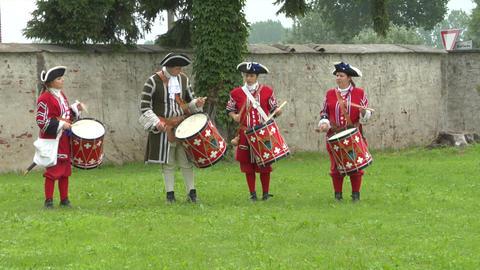 military drum 02 Footage