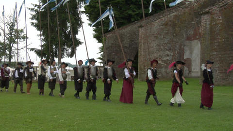 occitan infantry 03 Footage