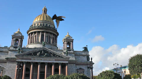 The Isaac's Cathedral Stock Video Footage
