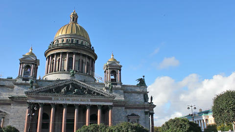 The Isaac's Cathedral Footage