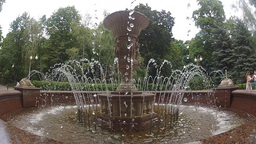fountain 1 Stock Video Footage