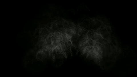 Smoky Clouds in ghost darkness Stock Video Footage