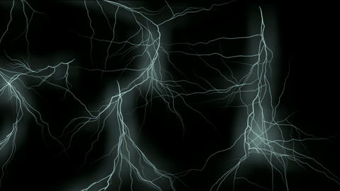 blue lightning,magnetic field,Negative oxygen ions Stock Video Footage