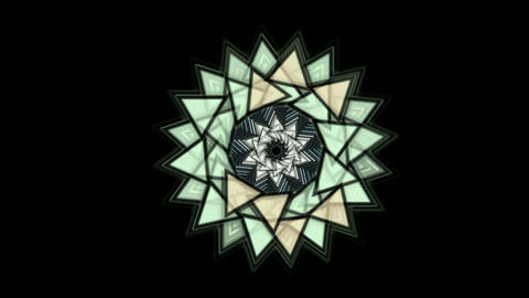 buddhism mandala,retro lotus flower pattern,oriental... Stock Video Footage
