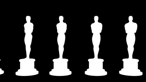 Oscar red carpet Stock Video Footage
