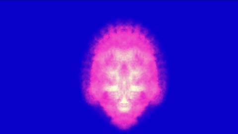 shine retro orient buddhism mandala pattern and laser... Stock Video Footage