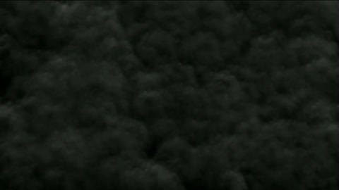 rolling smoke and gas in darkness,military explosives... Stock Video Footage