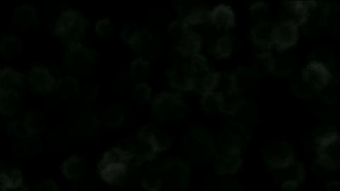 Nuclear smoke and cloud in darkness,military explosives... Stock Video Footage