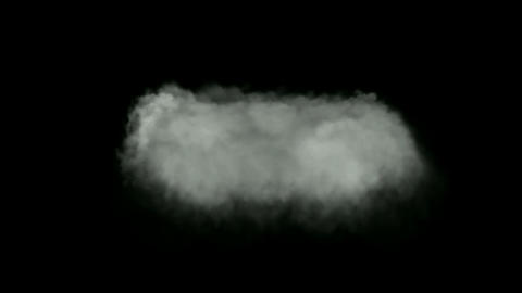 rolling clouds and smoke Animation