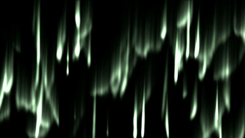 flare aurora and smoke in arctic sky,rays light and... Stock Video Footage