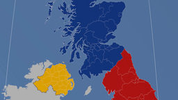 Inverclyde (United Kingdom). Solids Animation