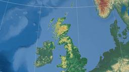 Moray (United Kingdom). Set of animations Animation