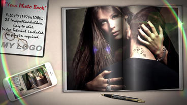 Photo Book Template After Effect