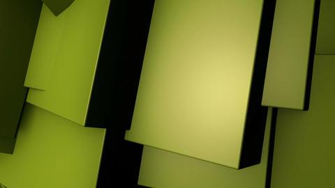 yellow edge wave Animation