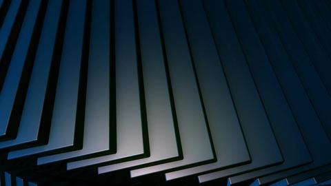 blue helix edge Animation