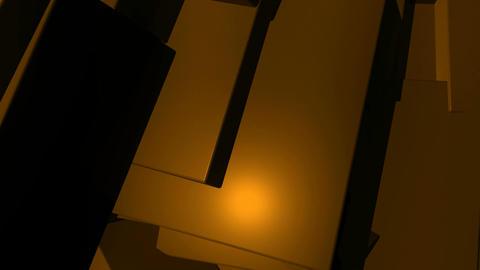 orange random edge Animation
