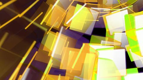 retro color cubes Animation