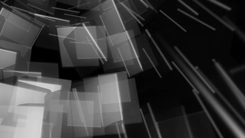 matte random cubes Animation