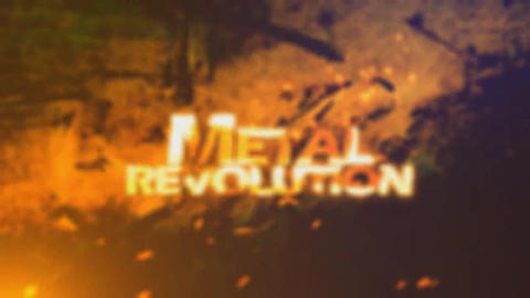 Metal Strick After Effects Template