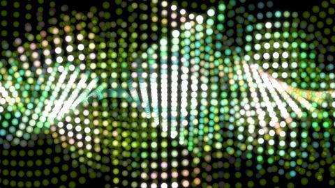 digital dot graph green Animation