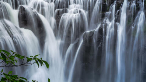Sny 30121 P 04 Mzt 1 12all 新北市十分瀑布 The Beautifull Waterfall in Tai Footage