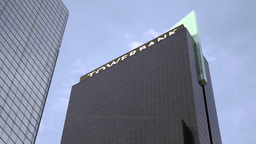 View Of Tower Bank Building In Panama City stock footage