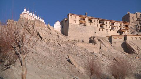 Buddhist Monastery Footage