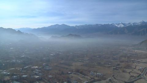 Leh , Ladakh , India stock footage