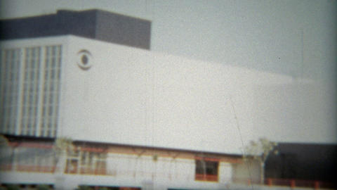 1953: CBS studios other LA landmark signage of the times Footage