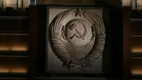 The coat of arms of the USSR Footage