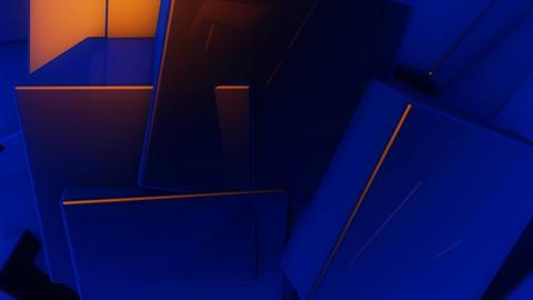 random cube motion Animation