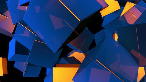 random cube array Animation
