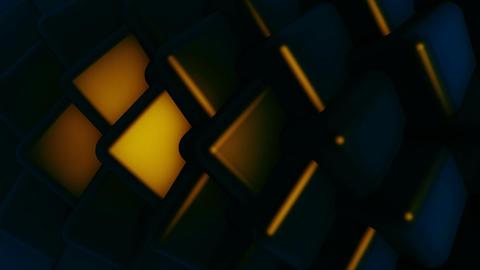 spotlights spin cube Animation