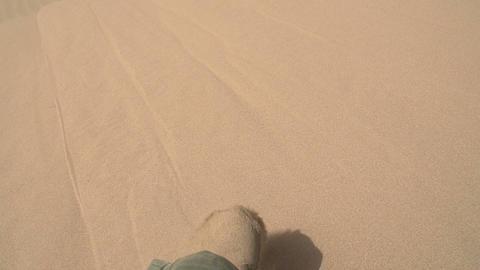 Downhill Dune HD Footage