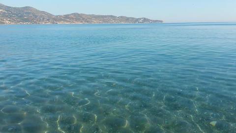 Transparent sea water (2 videos) Footage