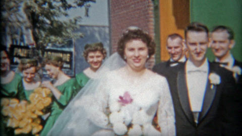 1948: Bride with broken leg gets married regardless Footage