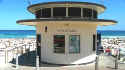 bondi beach lifeguard tower Footage
