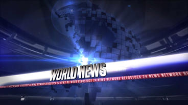 Broadcast news 24 After Effects Template
