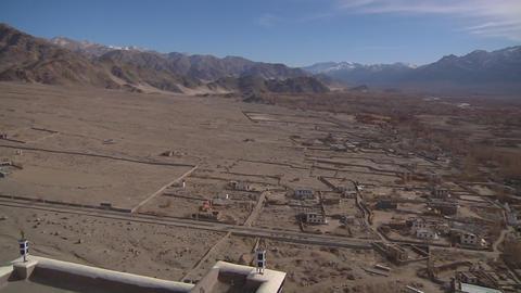 Leh, Ladakh, India stock footage