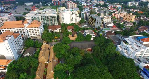 aerial birds eye of maya mall nimmanhemin Footage